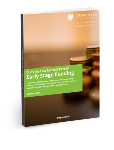 Free eBook - Early Stage Funding